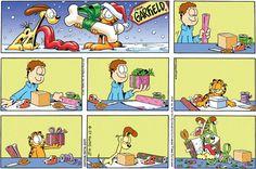 garfield comics <3