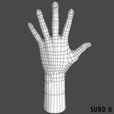 hand front ★ || CHARACTER DESIGN REFERENCES | キャラクターデザイン • Find more artworks at https://www.facebook.com/CharacterDesignReferences & http://www.pinterest.com/characterdesigh and learn how to draw: #3D #rigging #animation #topology #modeling || ★