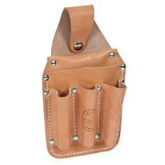 Leather Back Pocket Tool Pouch - 5481
