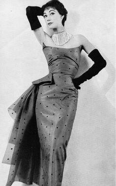 Elsa Schiaparelli Evening Gown, 1953