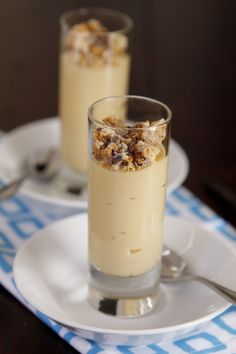 Vanilla Caramel Budino (Recipe near bottom of page)  #Italian #Pudding #Foods