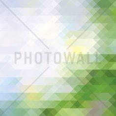 Abstract Triangular Pattern - Wall Mural & Photo Wallpaper - Photowall