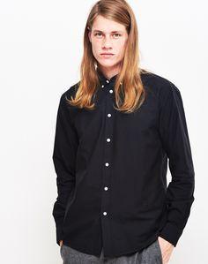 Soulland Goldsmith Button Down Shirt Black