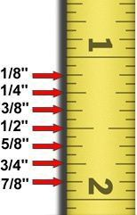 Sewing Tips Helpful Hints reading a ruler for dummies
