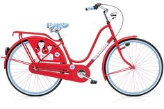 """This is an Electra Amsterdam """"Madonna"""" custom artwork by the mid-century designer Alexander Girard."""