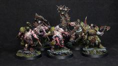 Age of Sigmar Warhammer Paint, Warhammer Aos, Warhammer Fantasy, Chaos Legion, Minis, Age Of Sigmar, Dark Eldar, Blood Bowl, Fantasy Battle