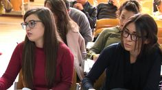 Il prof. Michele Rea presenta il Dipartimento di Economia Ud'A