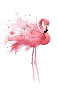 """Flamingo"" Watercolor Art Print Signed by Artist DJ Rogers David J. Rogers Fine Art www. Watercolor Bird, Watercolor Paintings, Painting Art, Watercolor Jellyfish, Watercolour Tattoos, Simple Watercolor, Watercolor Drawing, Watercolor Animals, Body Painting"