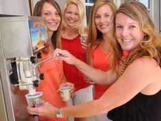 Beth Hession is The Margarita Man (lady) of the Space Coast in Florida