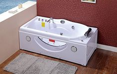 High Quality Bath, mini SPA in your bathroom ! New Whirlpool product with 1HP pump and 9 nozzles ! Check on Amazon. #spa #bath #relax #modern #radio #jacuzzi