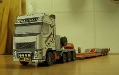 Volvo FH16 660 8x4 Truck Free Vehicle Paper Model Download