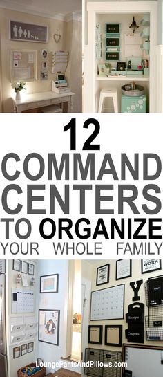12 Family Command Centers That Will Inspire You to Get More Organized