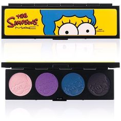 M·A·C Marge's Extra Ingredients Quad, The Simpsons Collection found on Polyvore
