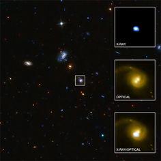 CID-42 a 4000 Maños-luz de la Tierra, con un agujero negro que ha sido expulsado, segun el Chandra
