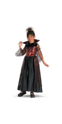 Spider Princess Costume - Child Costume - Medium Disguise Costumes http://www.amazon.com/dp/B001DBK6UE/ref=cm_sw_r_pi_dp_fygcwb1XWJGSJ