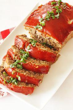 Good Meatloaf Recipe, Best Meatloaf, Meatloaf Recipes, Meat Recipes, Cooking Recipes, Homestyle Meatloaf Recipe, Copycat Recipes, Beef Recepies, Finger Food