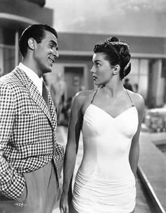 Esther Williams and Ricardo Montalban. 1949.