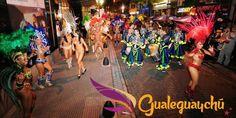 Explosiva presentación del Carnaval de País en Buenos Aires