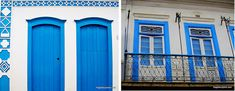 Garage Doors, Outdoor Decor, Furniture, Home Decor, Verandas, Windows, Colonial Architecture, Paraty, Brazil