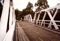 Wooden bridge at Genoa, East Gippsland, Victoria