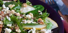 Spartan Recipe | Pear and Pecan Salad