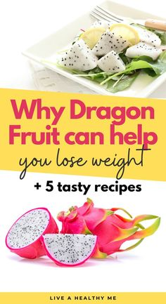 Keto Fruit, Healthy Fruits, Dragon Fruit Benefits, Tasty, Yummy Food, Pitaya, 100 Calories, Low Carb Diet, How To Lose Weight Fast