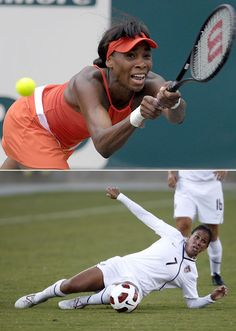 Venus Williams and Shannon Boxx: Olympic athletes with Sjogren's Syndrome. I didn't know Shannon battled it to.