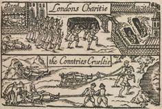 'London's Lamentation' Plague Image