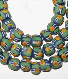 Handmade African Jewelry and What Each Pieces Means | African handmade Krobo mixed old glass trade, Unique African Arts