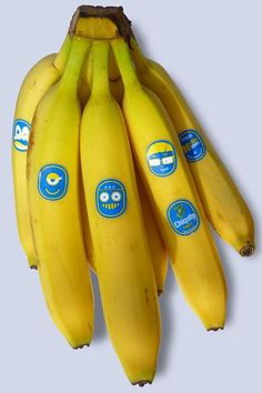 "Chiquita ""package"" #design - I love the #DespicableMe minion! #packaging"