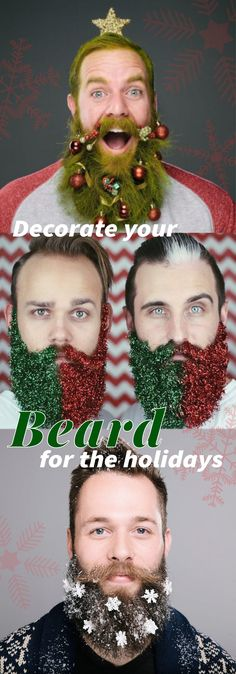 These Guys Created Beard Ornaments To Decorate Your Face ...