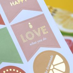 Stickers Collection é lindo, charmoso e cheio de frases inspiradoras!  #plannerstickers #planner2017 #dailyplanner #meudailyplanner #paperview_papelaria #inspiration