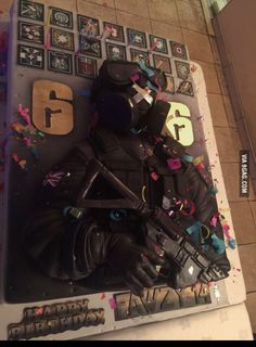 Rainbow Six Siege Cake Kidtastic In 2019 12th Birthday