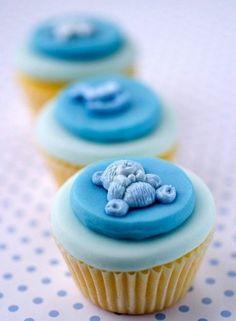 cupcakes para baby shower - Buscar con Google
