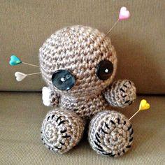 One-Armed Voodoo Doll: crochet amigurumi   She's Got the Notion