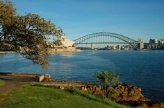 View from Mrs. Macquarie's chair, running June 2011