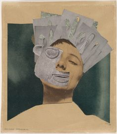 Hannah Höch. Indian Dancer: From an Ethnographic Museum. 1930.