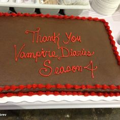 Nina Dobrevs photo: Thank you to our amazing, hardworking, fearless, constantly smiling crew-you have been this season incredible and I appreciate you. Bonnie And Jeremy, Damon And Bonnie, Kol And Davina, Stefan And Caroline, Worst Day, Losing Someone, Nina Dobrev, Season 4, Eye Candy