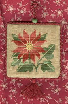 Prairie Schooler Christmas Ornaments - I have been unable to locate this pattern on Prairie Schooler's website