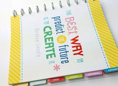 Great ideas for what to include in my planner