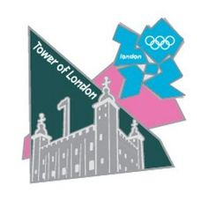 Price: $4.99 - Summer Olympics London 2012 England Olympic Games Landmark Tower of London Pin - TO ORDER, CLICK ON PHOTO