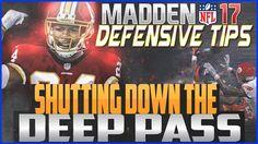 Madden NFL 17 Defensive Tips: Shutdown Deep Passes!