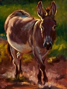 Beautiful Donkey Painting