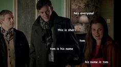 """Click thru for the rest - worth it for the idea of Sherlock saying """"frick frack paddywack"""" :P"""