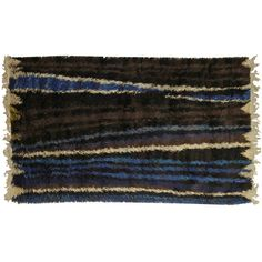 A Vintage Swedish Pile Rug | From a unique collection of antique and modern russian and scandinavian rugs at http://www.1stdibs.com/furniture/rugs-carpets/russian-scandinavian-rugs/