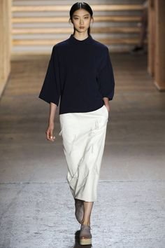 Tibi Spring 2015. See all the best #NYFW runway looks here.