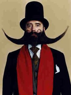 World Beard and Moustache Championships™ - one of many winners.  good for my hair do board