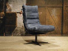 Leren fauteuil Bruno | robuustetafels.nl
