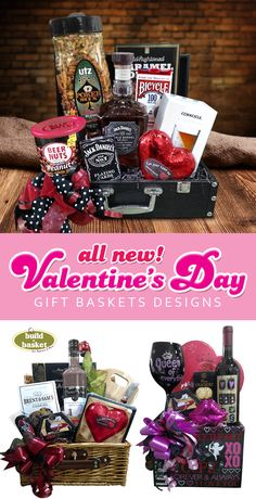 Build A Basket: All New Valentine's Day Gift Baskets- Love is in the Air!