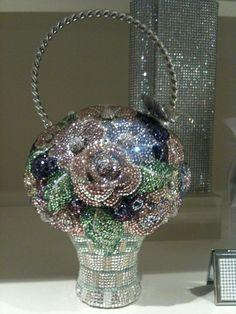 Judith Leiber bridal handbag~ girl needs some glamour in her life